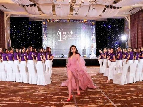 Sự ''quyền uy'' của Võ Hoàng Yến tại Hoa hậu Hoàn Vũ Việt Nam