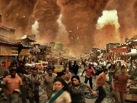 Kinh hoàng cảnh tượng siêu bão tàn phá thế giới trong 'Geostorm'