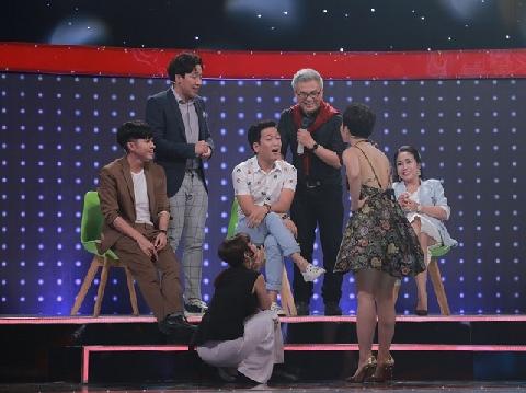 Miu Lê ''vạch mặt'' Trường Giang trên sóng truyền hình