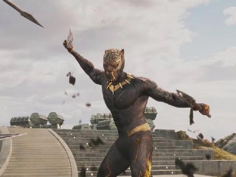 Hé lộ kẻ thù nguy hiểm của 'Black Panther' trong trailer mới