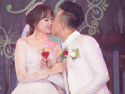 Làm dâu được cả bố mẹ chồng cưng chiều, ai sướng như Hari Won?