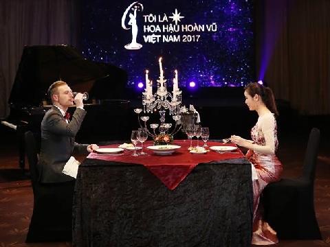Khi người đẹp hoa hậu Hoàn Vũ Việt ''chết đứng'' vì tiếng Anh dở
