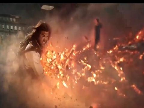 Tôn Ngộ Không dùng gậy như ý phát lửa đại chiến thần tiên