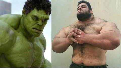 Những phiên bản 'người khổng lồ xanh Hulk' có thật ngoài đời!