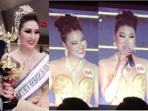 Cười ngất với màn ứng xử độc nhất lịch sử hoa hậu Việt của Phi Thanh Vân