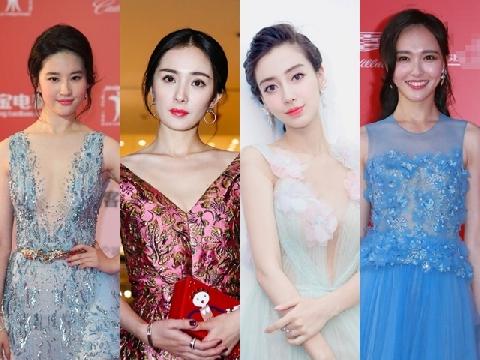 4 đại mỹ nhân Trung Quốc đụng độ trên thảm đỏ Marie Claire