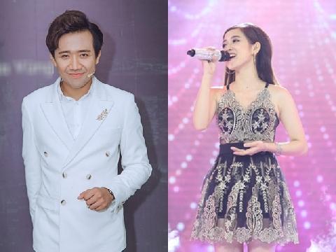 """Bỏ rơi Hari Won, Trần Thành công khai """"thả thính"""" gái xinh trên sóng truyền hình"""