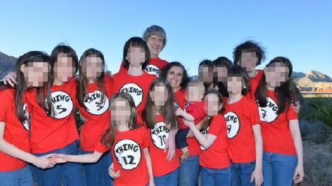 Kinh dị cặp vợ chồng tra tấn 13 đứa con