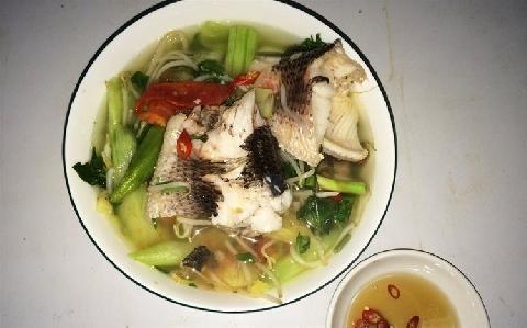 Giải vị sau tết với món canh chua cá lóc chua ngọt đậm đà