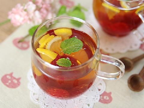 Cách pha trà trái cây thanh lọc giải nhiệt