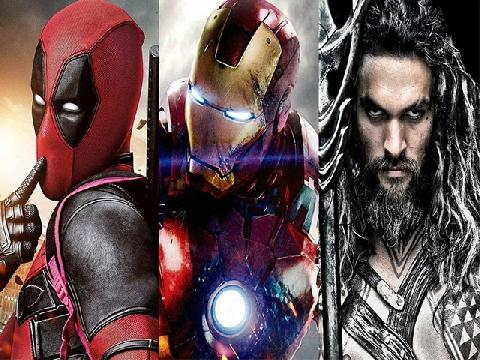 Chuẩn bị cháy túi vì năm 'siêu anh hùng' 2018 thôi!