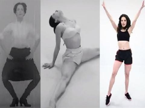 Một thế kỷ tập thể dục thẩm mỹ của phái đẹp
