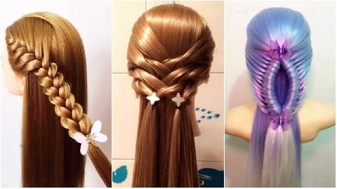 Tự thắt bím tóc đơn giản xinh xắn