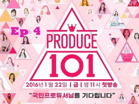 Produce 101 vietsub mùa 1 - tập 4 - phần 4 (end)