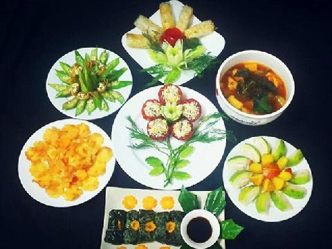 10 món ăn chay ngon và đẹp cho mâm cỗ ngày lễ tết