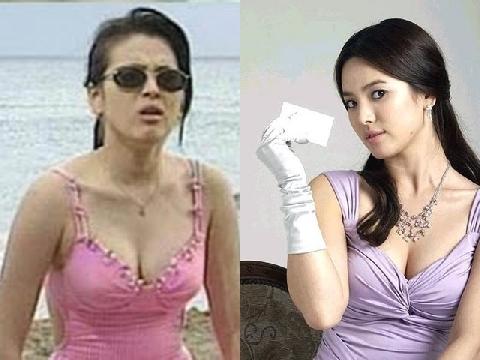 Song Hye Kyo lộ ảnh khoe thân nóng bỏng
