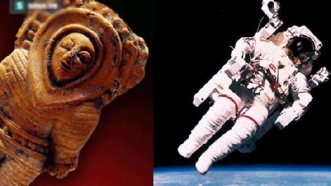 10 Đồ Vật Cổ Xưa liên quan đến Người Ngoài Hành Tinh được tìm thấy trên Trái Đất...