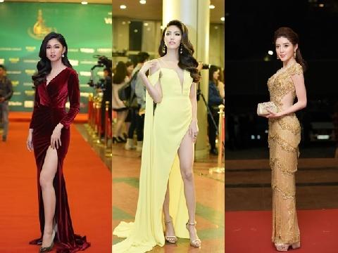 Huyền My và dàn mỹ nhân Việt đẹp hút hồn trên thảm đỏ