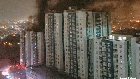 'Không loại trừ khả năng cài đặt nổ' trong vụ cháy chung cư Carina