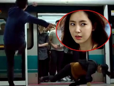 Clip: Gái xinh tay không 'quật ngã' tên trộm ở ga tàu điện