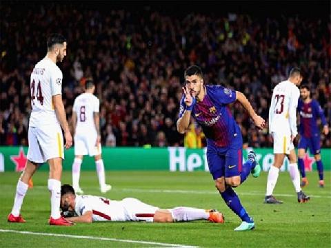 Barcelona 4-1 Roma (Tứ kết lượt đi Champions League)