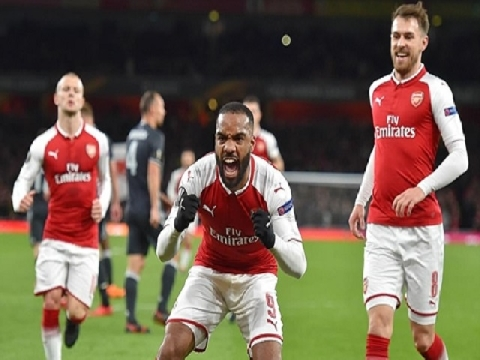 Arsenal 4 – 1 CSKA Moscow (Lượt đi tứ kết Europa League)