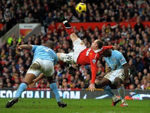 10 bàn đẹp nhất của Man United vào lưới Man City