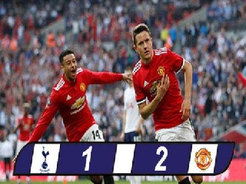 Man United 2-1 Tottenham (Bán kết FA Cup)