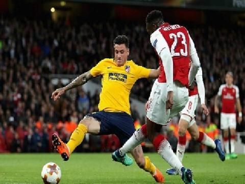 Arsenal 1-1 Atletico Madrid (lượt đi bán kết Europa League)