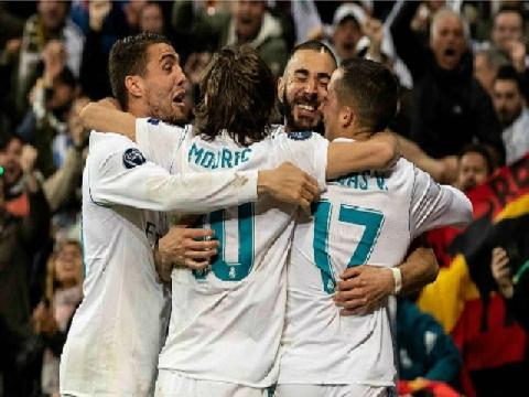 Real Madrid 2-2 Bayern Munich (Bán kết lượt về Champions League)