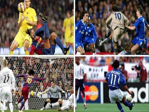 25 siêu phẩm làm nên tên tuổi Ronaldinho