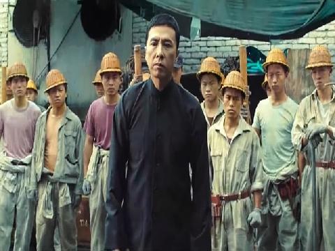'Diệp Vấn' Chân Tử Đan 1 chọi 100 gangster xưởng đóng tàu