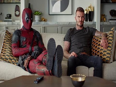Deadpool tặng vé World Cup cho Beckham sau khi lỡ chế nhạo danh thủ