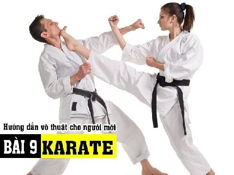 Bài 9: Một số kỹ thuật tự vệ Karate dân võ nên biết