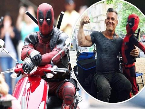 Hot: Rò rỉ cảnh hành động đầu tiên của 'Deadpool 2'