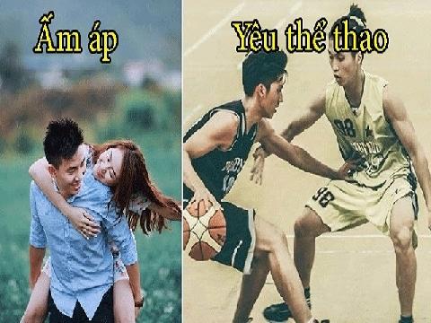 Hài: Hãy yêu chàng trai biết chơi bóng rổ!