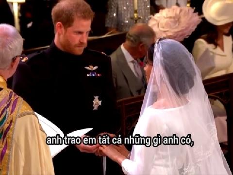 Bạn sẽ phát cuống với những câu nói ngôn tình Hoàng tử Harry dành cho vợ