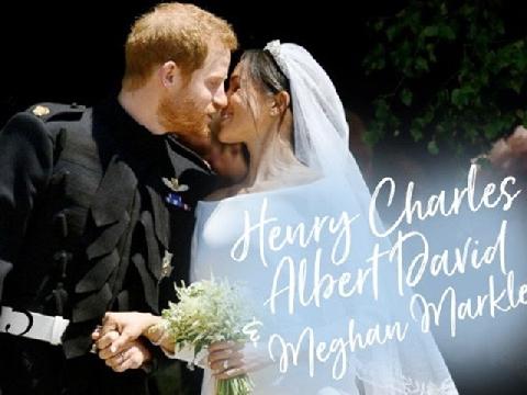 Toàn cảnh đám cưới gây choáng ngợp của Hoàng gia Anh