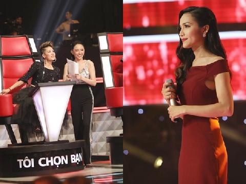 """Hoa hậu chuyển giới đầu tiên của Việt Nam bất ngờ xuất hiện tại """"Giọng hát Việt 2018"""""""
