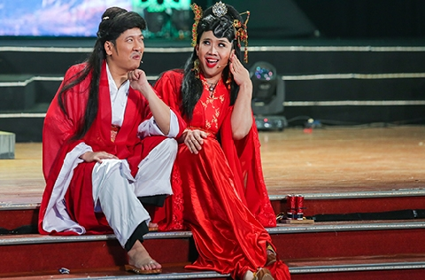 Ông Tơ Bà Nguyệt lầy nhất showbiz