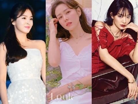 Top nữ diễn viên đẹp tự nhiên được tôn sùng nhiều nhất Kbiz