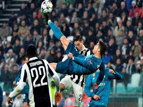 Ronaldo, Bale, Messi và 10 bàn thắng đẹp nhất Champions League 2017/18