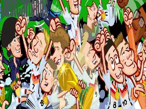 Đường đến cúp vàng WC 2014 của ĐT Đức (Phiên bản hài hước)
