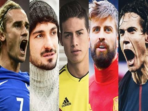 10 cầu thủ đẹp trai nhất World Cup 2018