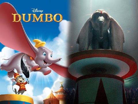 Voi con biết bay Dumbo bất ngờ quay trở lại với phiên bản live-action