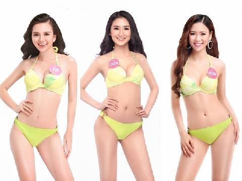 Ngắm thân hình gợi cảm của Top 30 thí sinh Hoa hậu Việt Nam