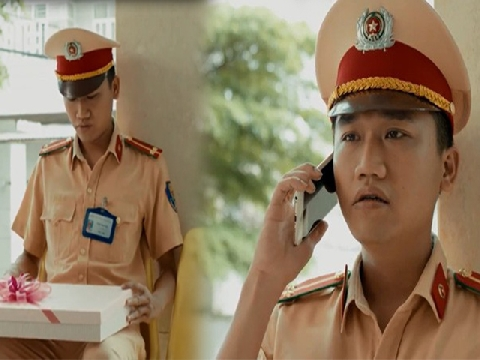 Trọn bộ các cảnh thoại của Đức - 'hot boy' CSGT trong 'Ngày Ấy Mình Yêu Nhau'