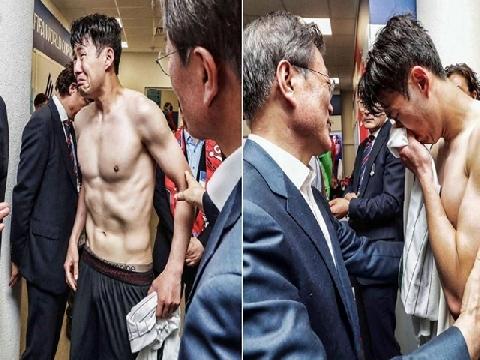 Thua Mexico, Son Heung-min khóc nức nở khi gặp Tổng thống Hàn Quốc