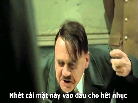 Chế: Hitler nổi giận khi Đức thua Hàn Quốc 0-2