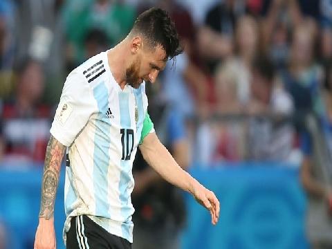 Messi và những hình ảnh rơi nước mắt trong trận gặp Pháp